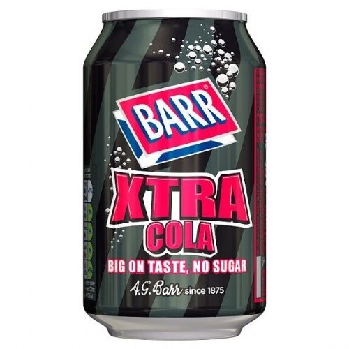 Barr Xtra Cola 330ml Can (UK)